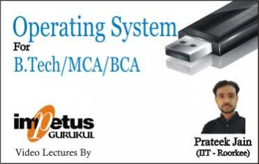 Operating System For B.tech/MCA/BCA