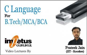 C Language for B.Tech/MCA/BCA